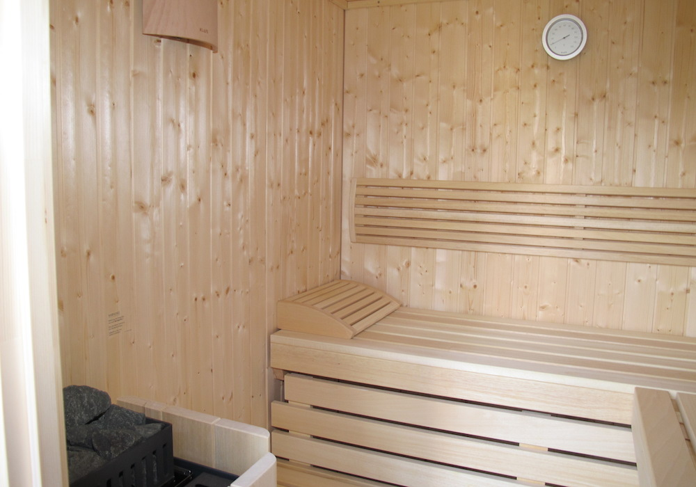 eigene sauna nordseebude nordseebude. Black Bedroom Furniture Sets. Home Design Ideas